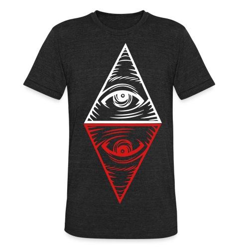 2 eye - Unisex Tri-Blend T-Shirt
