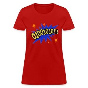 01001010!!! - Women's T-Shirt
