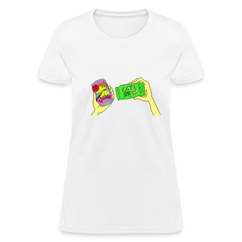 Umbrella Juice / Anus Bar - Women's T-Shirt