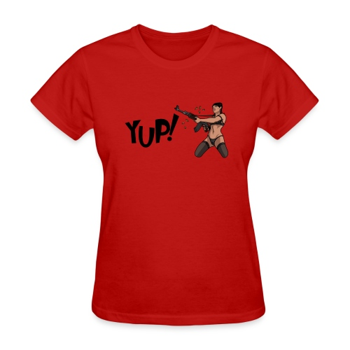 Yup! - Women's T-Shirt