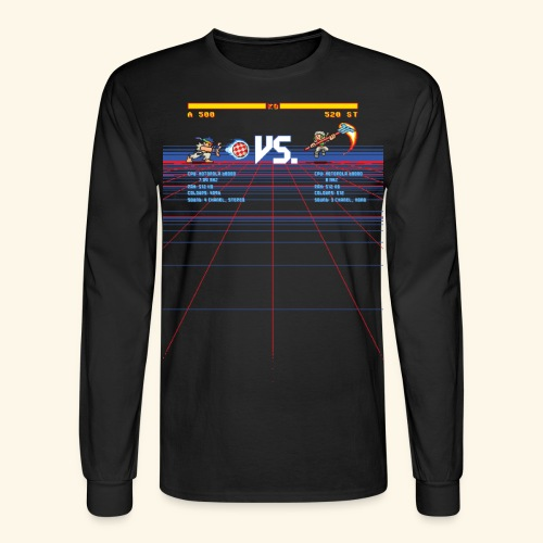 A 500 VS. 520 ST - Men's Long Sleeve T-Shirt