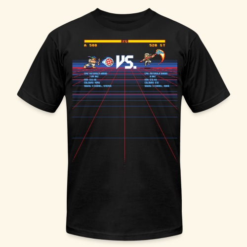 A 500 VS. 520 ST - Men's Fine Jersey T-Shirt
