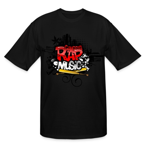 Gangsta Rap Tall Tee - Men's Tall T-Shirt