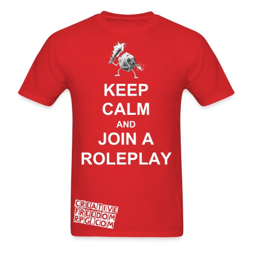 Join a Roleplay T-Shirt - Men's T-Shirt