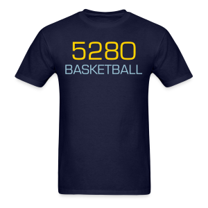5280 Basketball - Mens - Men's T-Shirt