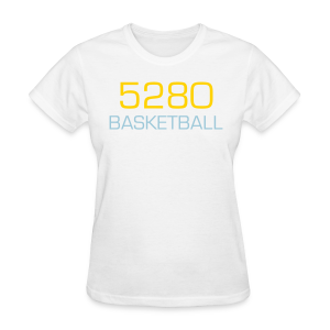 5280 Basketball - Ladies - Women's T-Shirt