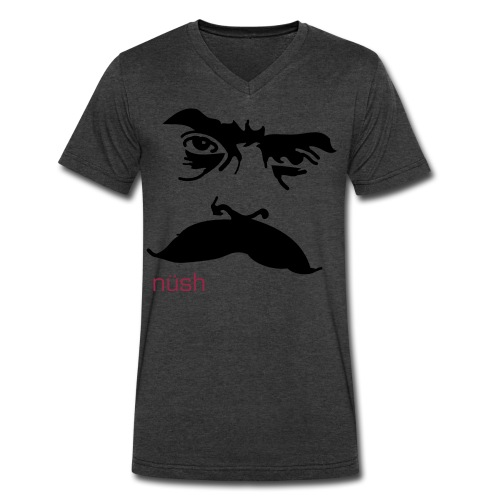 zapata stare - Men's V-Neck T-Shirt by Canvas