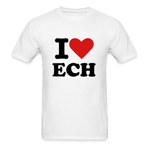 I heart ECH Tshirt Mens - Men's T-Shirt