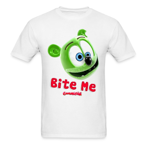 Gummibär (The Gummy Bear) Bite Me Men's T-Shirt - Men's T-Shirt