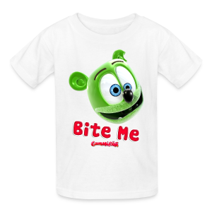 Gummibär (The Gummy Bear) Bite Me Kids' T-Shirt - Kids' T-Shirt