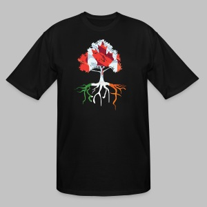 Canada Irish Rooted - Men's Tall T-Shirt