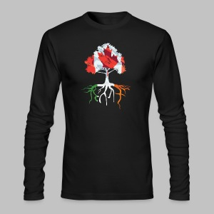 Canada Irish Rooted - Men's Long Sleeve T-Shirt by Next Level