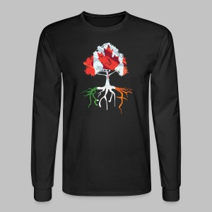 Canada Irish Rooted - Men's Long Sleeve T-Shirt