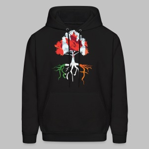 Canada Irish Rooted - Men's Hoodie