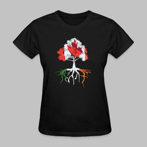 Canada Irish Rooted - Women's T-Shirt