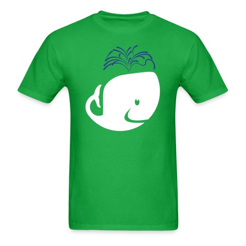 A whale? Hell Yes. - Men's T-Shirt
