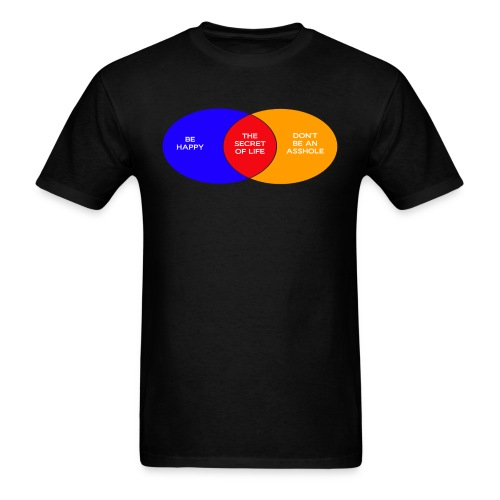 The Secret Of Life (Men's) - Men's T-Shirt