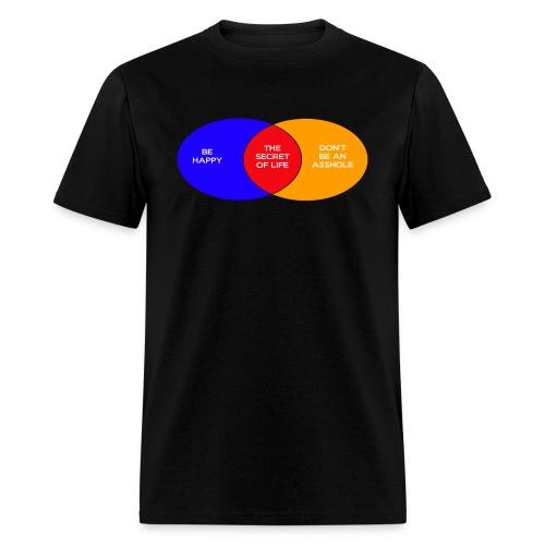 The Secret Of Life (Men's) - Men's T-Shirt