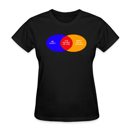 The Secret Of Life (Women's) - Women's T-Shirt