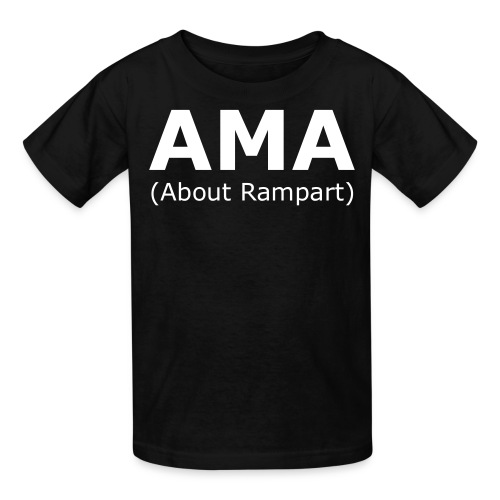 Ask Me Anything (About Rampart) Shirt - Kids' T-Shirt
