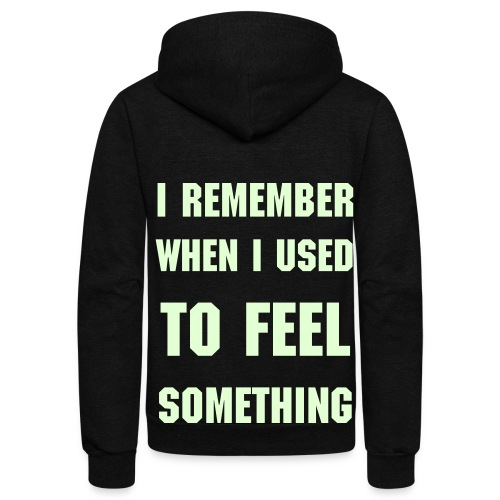 I Remember - Unisex Fleece Zip Hoodie
