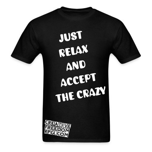 Just Accept It T-Shirt - Men's T-Shirt