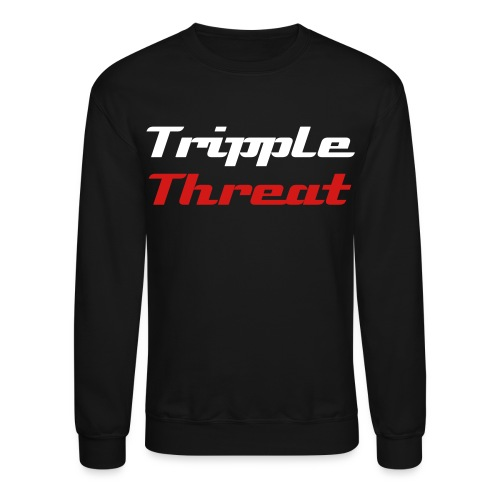 TrippleThreat Mens Sweatshirt - Crewneck Sweatshirt