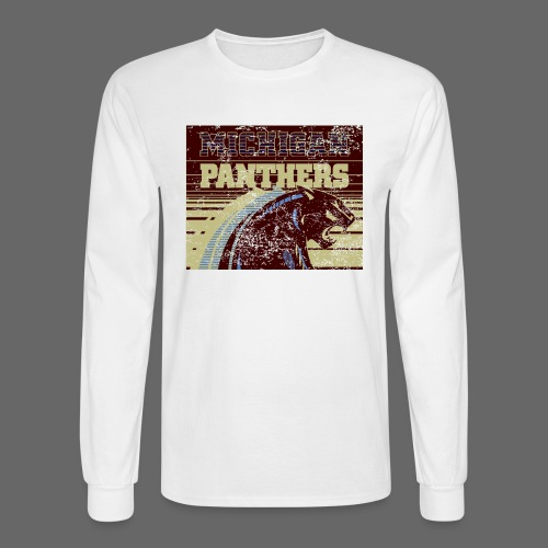 Michigan Panthers - Men's Long Sleeve T-Shirt