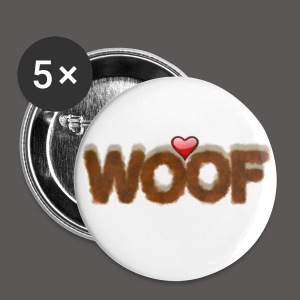 WOOF A - Large Buttons
