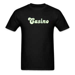 Glow in the Dark Casino T Shirt. - Men's T-Shirt