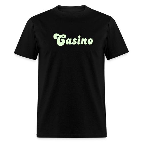 Glow in the Dark Casino T Shirt. - Men's T-Shirt