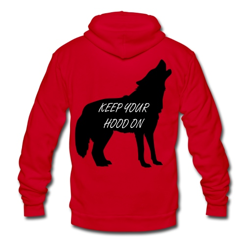 Keep Your Hood On Zip Up Hoodie - Unisex Fleece Zip Hoodie