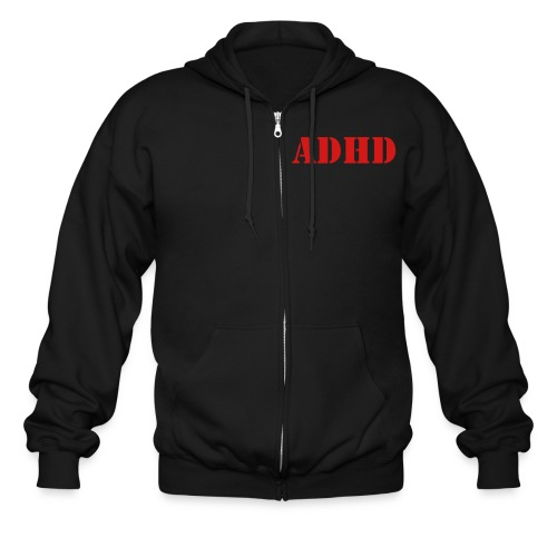 ADHD Hooded Sweatshirt - Men's Zip Hoodie