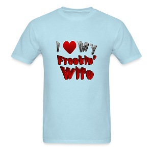 I (heart) My Wife - Men's T-Shirt
