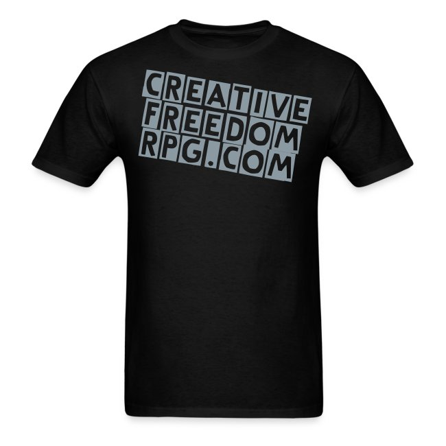 Creative Freedom Standard Metallic Print T-Shirt