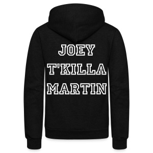 Joey Martin (@JoeyMartin10) - Unisex Fleece Zip Hoodie by American Apparel