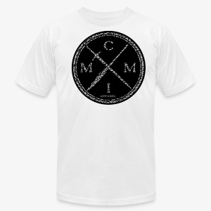 MCMI ELEPHANT PRINT003 - Men's T-Shirt by American Apparel