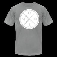 T-Shirts ~ Men's T-Shirt by American Apparel ~ MCMI ELEPHANT PRINT001