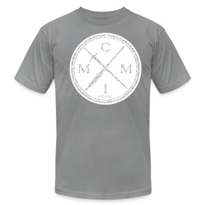 MCMI ELEPHANT PRINT001 - Men's T-Shirt by American Apparel