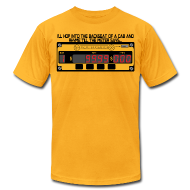 T-Shirts ~ Men's T-Shirt by American Apparel ~ till the meter says....