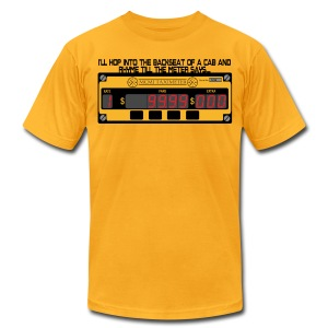 till the meter says.... - Men's T-Shirt by American Apparel