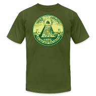 T-Shirts ~ Men's T-Shirt by American Apparel ~ IN HIP HOP WE TRUST
