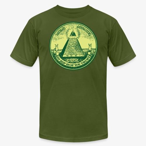 IN HIP HOP WE TRUST - Men's Fine Jersey T-Shirt