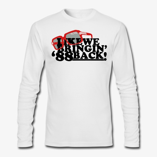 88 BACK...long sleeve 02 - Men's Long Sleeve T-Shirt by Next Level