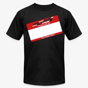PEOPLE CALL ME 01 - Men's Fine Jersey T-Shirt