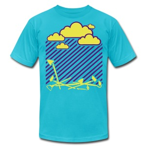 Rain On these....002 - Men's T-Shirt by American Apparel