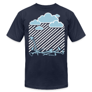 T-Shirts ~ Men's T-Shirt by American Apparel ~ Rain On these....001