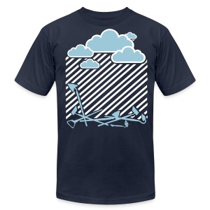 Rain On these....001 - Men's T-Shirt by American Apparel