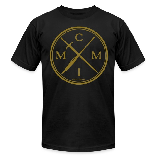 Pen X Sword GOLD  - Men's T-Shirt by American Apparel
