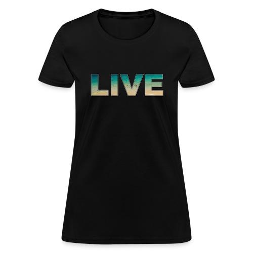 Live Ocean T-Shirt - Women's T-Shirt